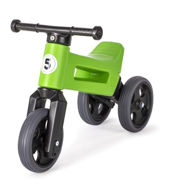 Odrážedlo FUNNY WHEELS Rider Sport2v1 zelené stichými koly
