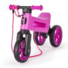 Odrážedlo FUNNY WHEELS Rider SuperSport2v1 fialovéspopruhem a tichými koly