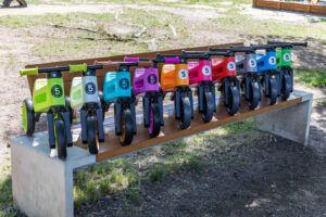 Přehled barev FUNNY WHEELS Rider odrážedel