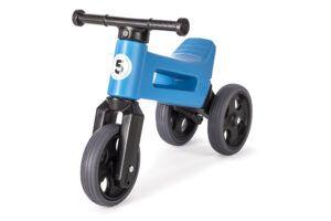 Odrážedlo FUNNY WHEELS Rider Sport2v1 modré stichými koly