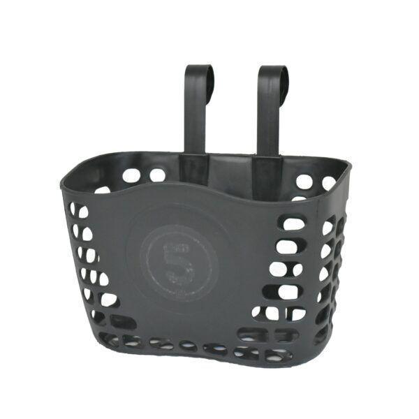 Černý košík na dětské odrážedlo FUNNY WHEELS Rider