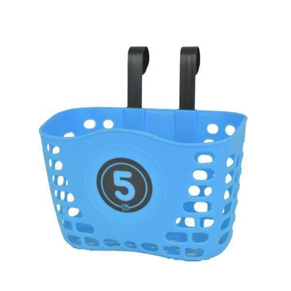 Modrý košík na dětské odrážedlo FUNNY WHEELS Rider